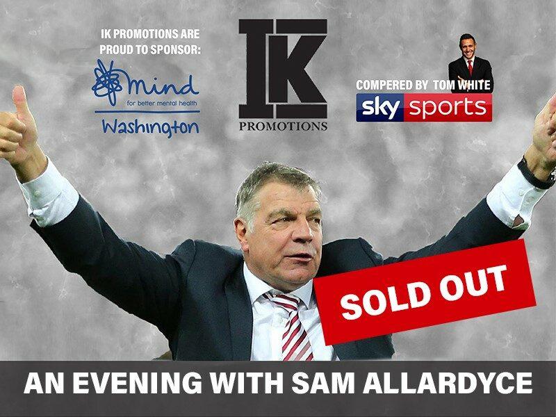 An Evening with Sam Allardyce
