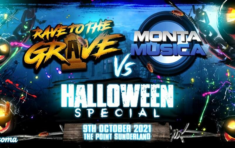 Monta vs Rave to the Grave - Halloween Special