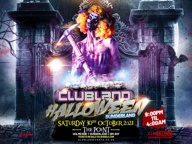 Clubland Halloween Sunderland