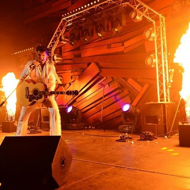 Elvis was in the building way back when..... hopefully we have him back on stage again soon! #elvispresleyfans #thepoint #sunderland #wemakeevents #livemusic #liveconcert