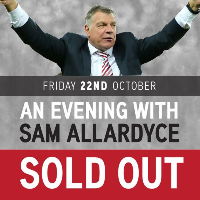 We love a sell out at the Point! @ikpromotions78  cannot wait to welcome BIG SAM to Sunderland