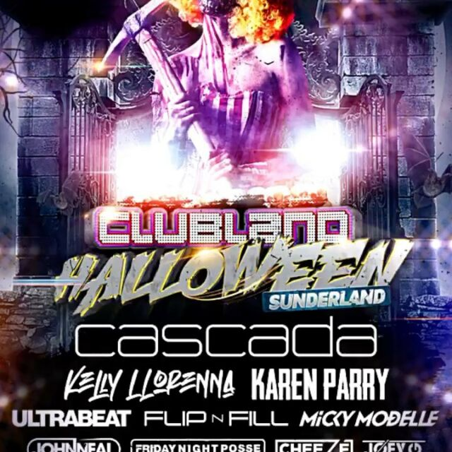 🔥CLUBLAND HALLOWEEN 🔥SUNDERLAND @thepointsunderland 30.10.21 #halloween #sunderland #clubland @cascada_official  @ultrabeat_official  @mickymodelle  @mckeyes  @themcfinchy  @karen_parryofficial @djjohnneal 👇Book Now👇www.thepointsunderland.co.uk